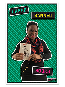 Image for I Read Banned Books Poster File