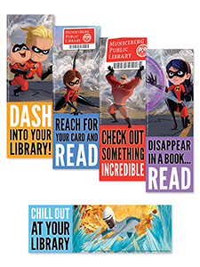 The Incredibles Bookmarks