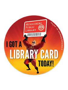 Image for Mr. Incredible Library Stickers