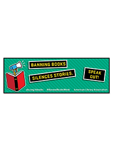 Image for Speak Out Banned Books Bookmark