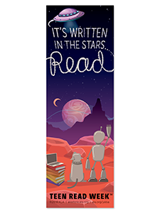 Image for 2018 Teen Read Week Bookmark