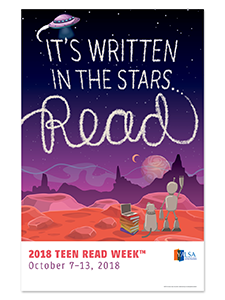 Image for 2018 Teen Read Week Poster