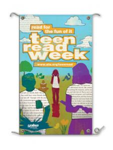 Image for Teen Read Week Banner Words