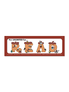 Unlimited Squirrels Bookmark