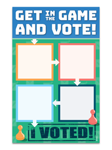 Image for Vote Mini Poster File