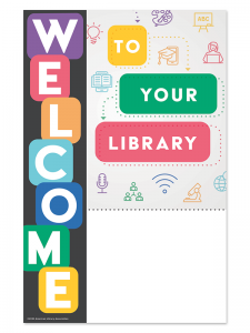 Image for Welcome Library Mini Poster File