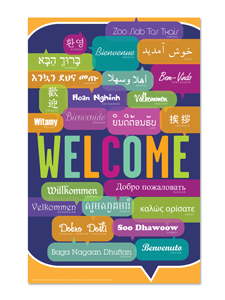 Image for Welcome Poster