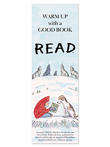 Image for Wolf in the Snow Bookmark