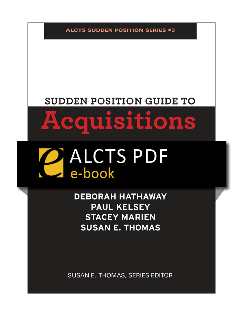 Image for Sudden Position Guide to Acquisitions—eEditions PDF e-book