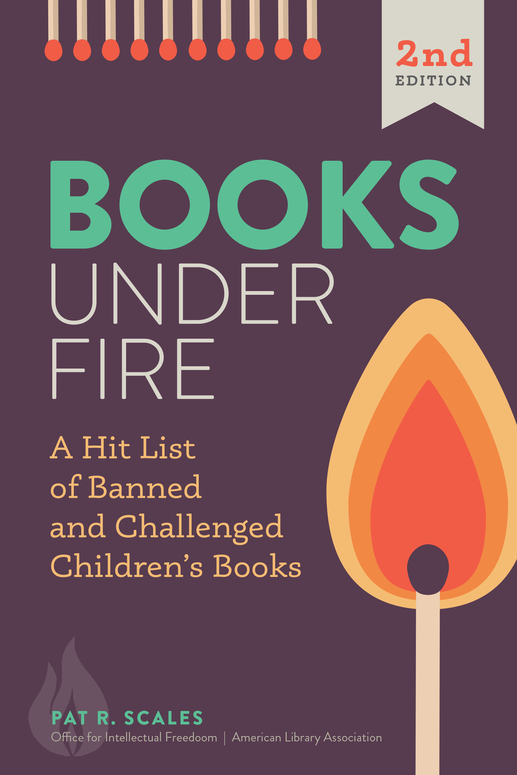 book cover for Books Under Fire, Second Edition