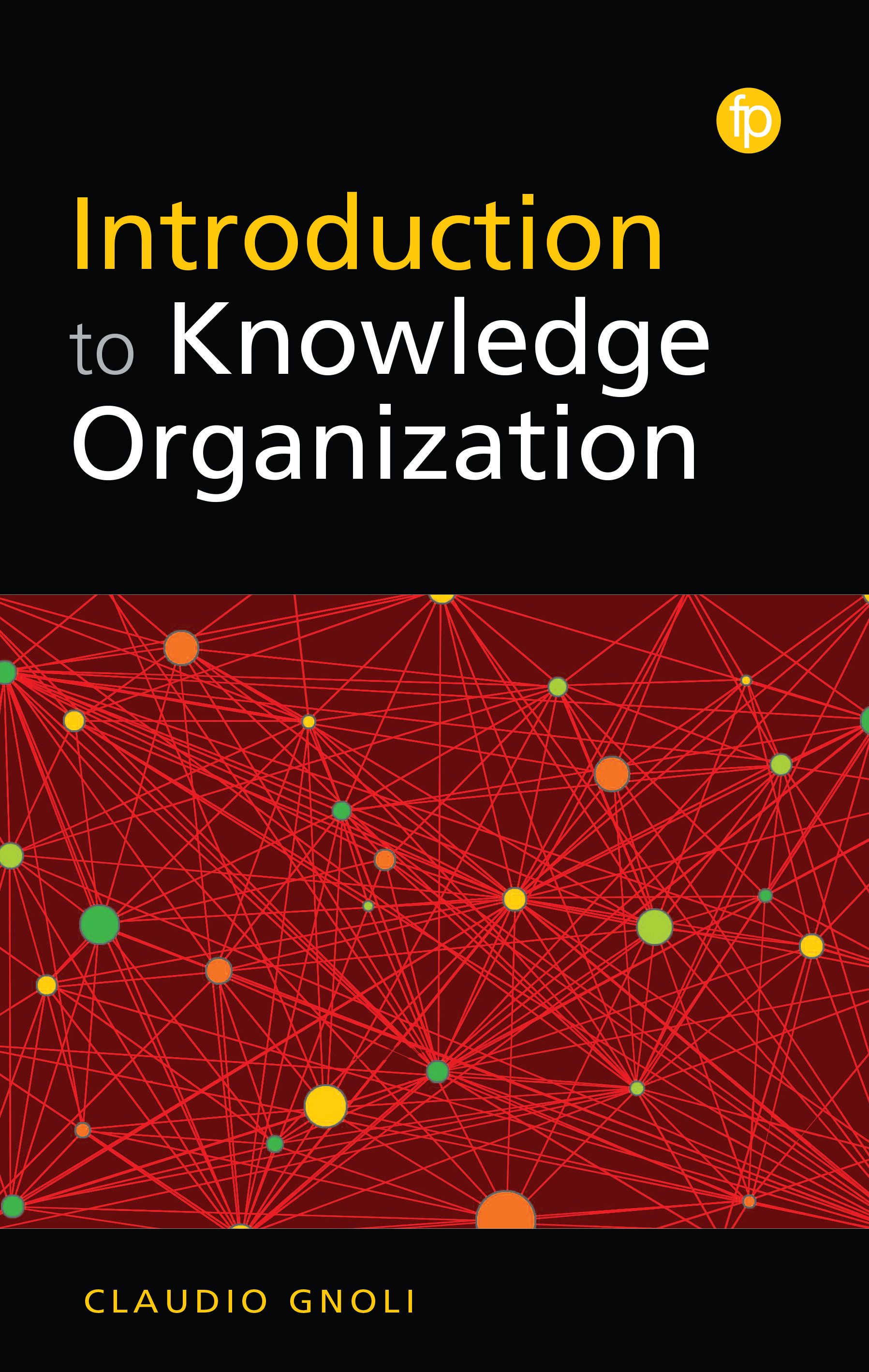 book cover for Introduction to Knowledge Organisation