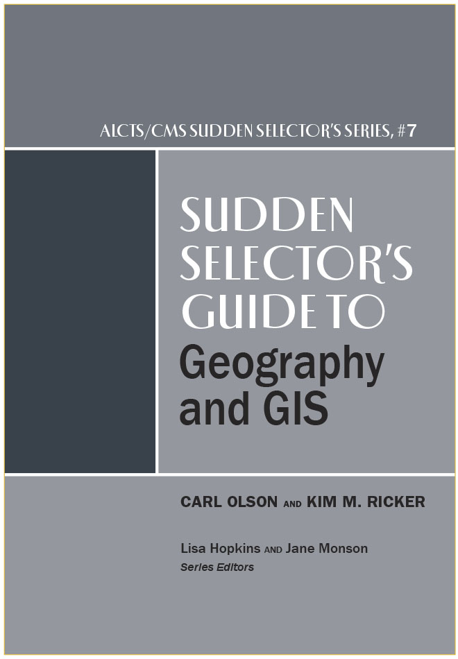 book cover for Sudden Selector's Guide to Geography and GIS