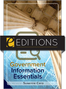 cover image for Government Information Essentials--e-book