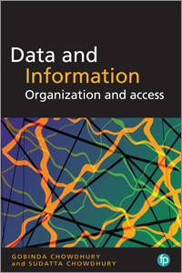 book cover for Data and Information: Organization and Access