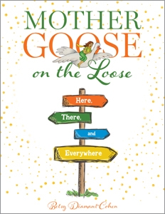 book cover for Mother Goose on the Loose—Here, There, and Everywhere