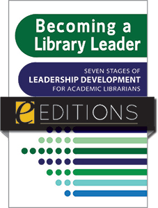 book cover for Becoming a Library Leader--e-book