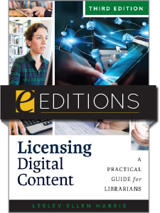 cover image for Licensing Digital Content, Third Edition--eEditions e-book