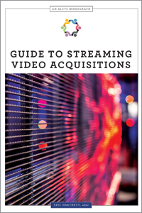 Image for Guide to Streaming Video Acquisitions (An ALCTS Monograph)