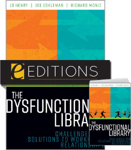 cover image for The Dysfunctional Library--print/e-book bundle