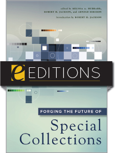 cover image for Forging the Future of Special Collections — eEditions e-book