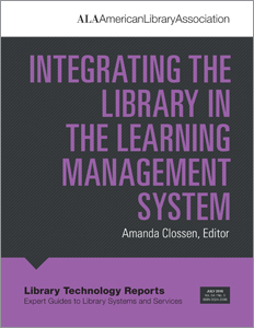 Image for Integrating the Library in the Learning Management System