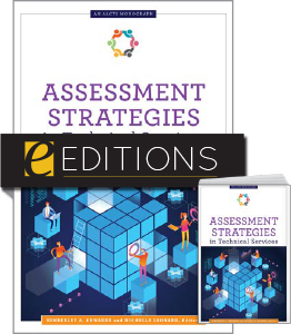 cover image for Assessment Strategies in Technical Services--print/e-book bundle