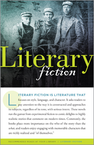 Image for Literary Fiction (Resources for Readers pamphlets)