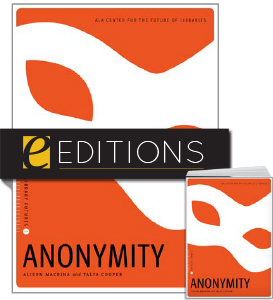 cover image for Anonymity--print/e-book bundle
