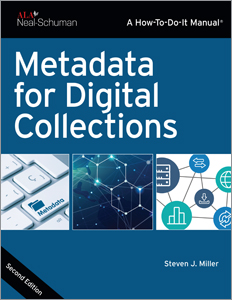 book cover for Metadata for Digital Collections, Second Edition