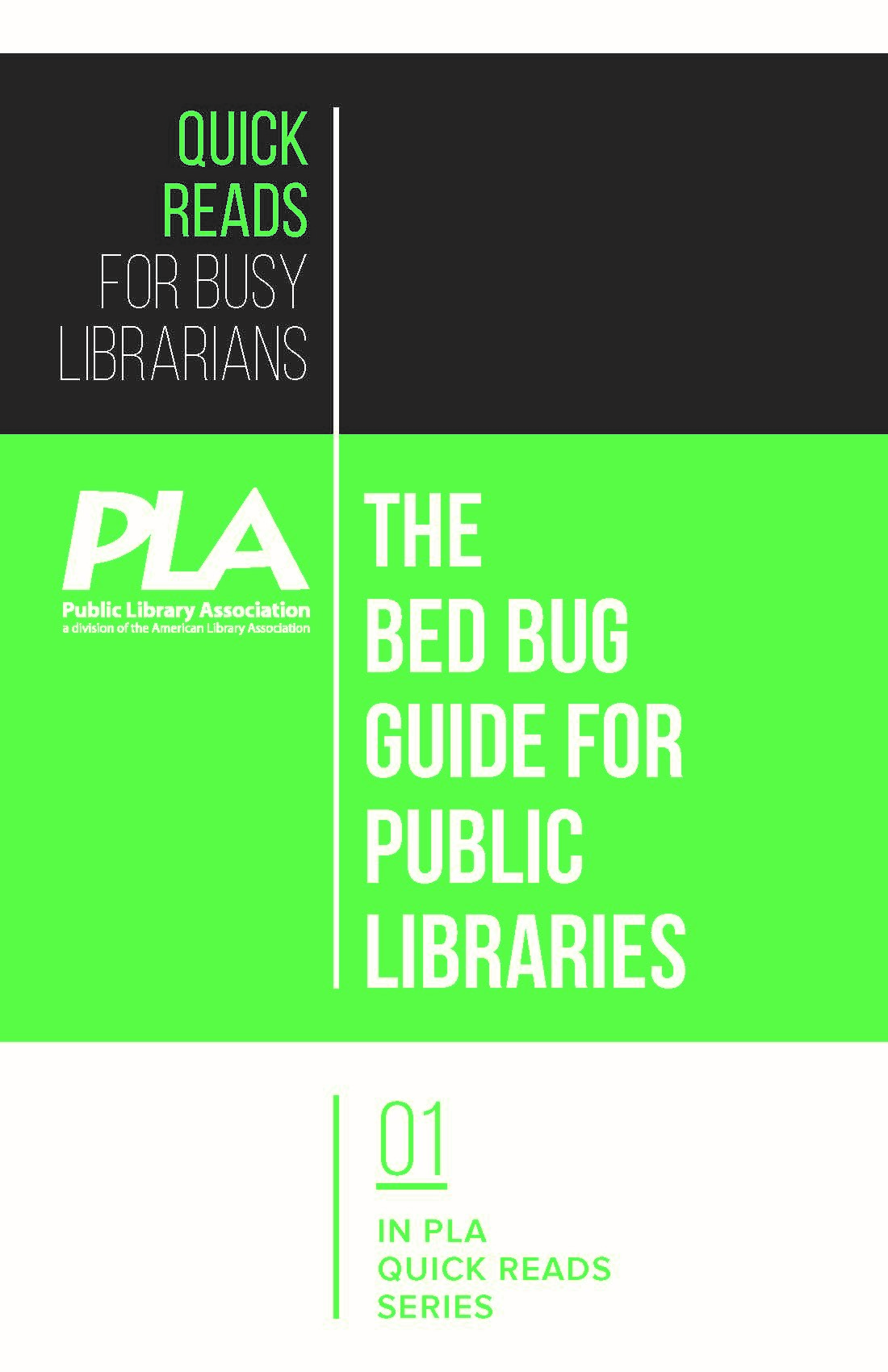 cover image for The Bed Bug Guide for Public Libraries—eEditions PDF e-book