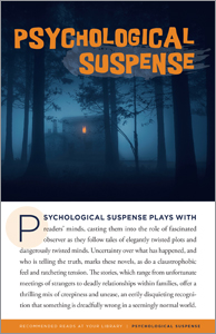 product cover for Psychological Suspense (Resources for Readers pamphlets)