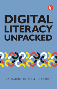book cover for Digital Literacy Unpacked
