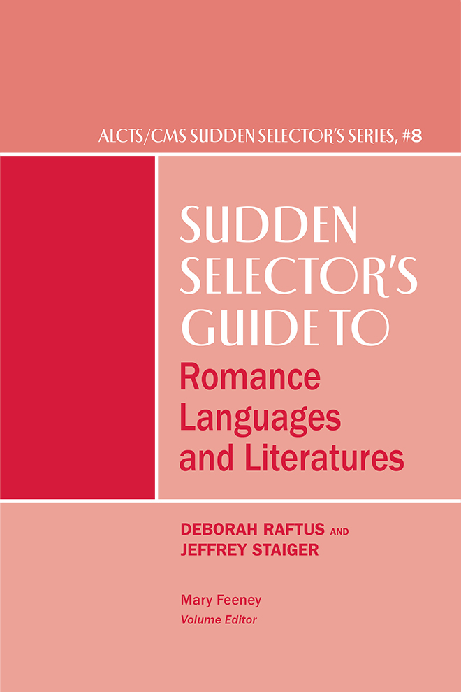 Image for Sudden Selector's Guide to Romance Languages and Literatures