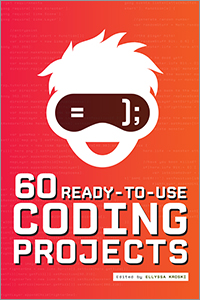 book cover for 60 Ready-to-Use Coding Projects
