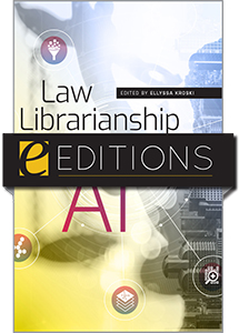 product image for Law Librarianship in the Age of AI—e-book