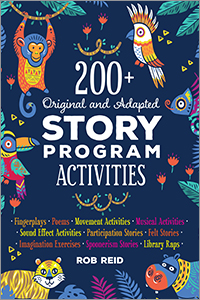 Image for 200+ Original and Adapted Story Program Activities