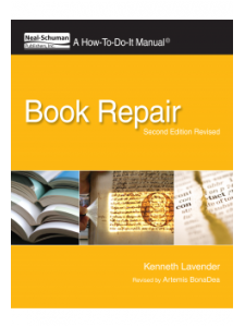 Image for Book Repair, Second Edition: A How-To-Do-It Manual, Second Edition Revised