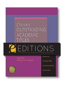 Image for Choice's Outstanding Academic Titles, 2007-2011 - PDF e-book
