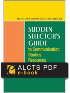 Image for Sudden Selector's Guide to Communication Studies Resources--PDF e-book