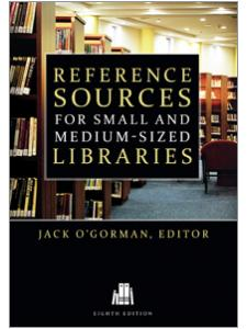 Image for Reference Sources for Small and Medium-sized Libraries, Eighth Edition
