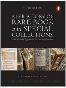 Image for A Directory of Rare Book and Special Collections in the UK and Republic of Ireland, Third Edition