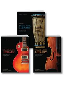 Image for 3-VOLUME SET of A Basic Music Library, Fourth Edition
