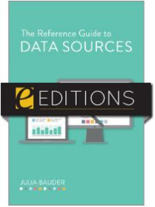 Image for The Reference Guide to Data Sources—eEditions e-book