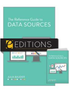 Image for The Reference Guide to Data Sources—print/e-book Bundle