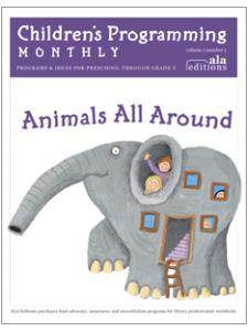 Image for Animals All Around (Children's Programming Monthly, vol. 1/no. 1)