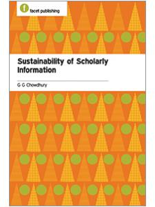 Image for Sustainability of Scholarly Information