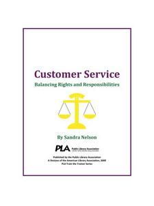 Image for Customer Service: Balancing Rights and Responsibilities -- digital download
