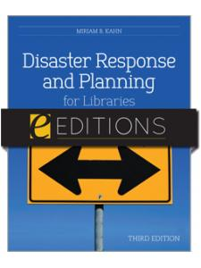 Image for Disaster Response and Planning for Libraries, Third Edition--eEditions PDF e-book