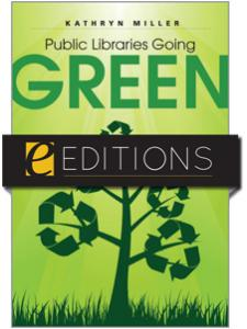 Image for Public Libraries Going Green--eEditions e-book