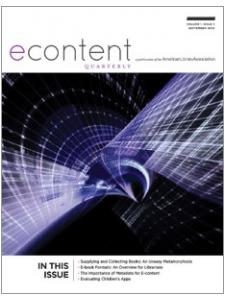 Image for eContent Quarterly, volume 1 number 1